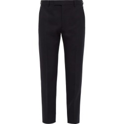 Berluti - Tailored Mid Rise Wool Twill Trousers - Mens - Navy found on MODAPINS from Matches UK for USD $916.14