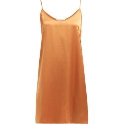 Araks - Pearl Silk Slip Dress - Womens - Orange found on MODAPINS from Matches Global for USD $206.00