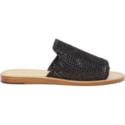 Dolce & Gabbana - Braided Faux-raffia Slides - Mens - Black found on Bargain Bro from Matches UK for £478