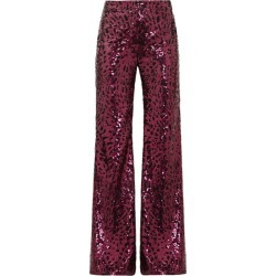 Halpern - Sequinned Wide-leg Trousers - Womens - Fuchsia found on MODAPINS from Matches Global for USD $510.00