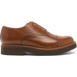 Grenson - Ben Leather Oxford Shoes - Mens - Tan found on MODAPINS from Matches Global for USD $319.00