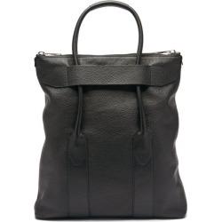 Maison Margiela - Foldable Grained-leather Tote Bag - Mens - Black found on Bargain Bro UK from Matches UK