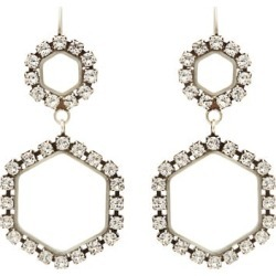 Isabel Marant - Crystal-embellished Drop Earrings - Womens - Crystal found on Bargain Bro from Matches UK for £103