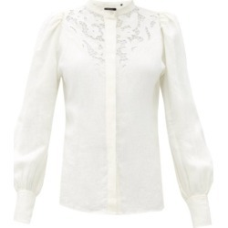 Isabel Marant - Blouse en lin à broderie anglaise Etima found on Bargain Bro India from matchesfashion.com fr for $767.00