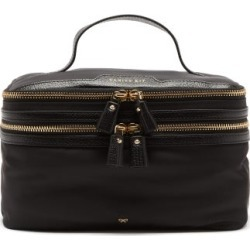Anya Hindmarch - Vanity Kit Recycled-fibre Wash Bag - Womens - Black found on MODAPINS from MATCHESFASHION.COM - AU for USD $485.17