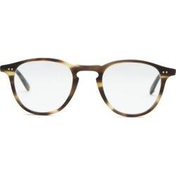 Garrett Leight - Hampton Tortoiseshell Matte-acetate Glasses - Mens - Tortoiseshell found on MODAPINS from Matches UK for USD $342.04