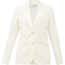 Gabriela Hearst - Blazer en coton à boutonnage simple Sophie found on MODAPINS from matchesfashion.com fr for USD $832.00