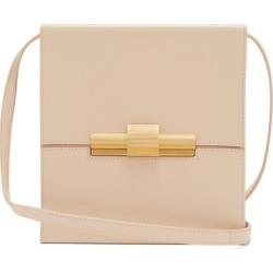 Bottega Veneta - Daisey Leather Cross-body Bag - Womens - Beige found on Bargain Bro from MATCHESFASHION.COM - AU for USD $1,869.80