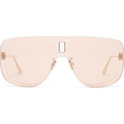 Dior - Ultradior Aviator Acetate Sunglasses - Womens - Pink found on Bargain Bro UK from Matches UK
