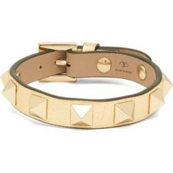 Valentino Garavani - Rockstud Leather Bracelet - Womens - Gold found on Bargain Bro from Matches UK for £141