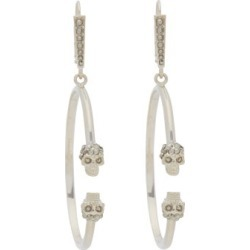 Alexander Mcqueen - Double Skull Hoop Earrings - Womens - Gold found on Bargain Bro from Matches UK for £322