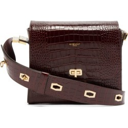Givenchy - Eden Medium Crocodile-embossed Leather Bag - Womens - Burgundy found on Bargain Bro Philippines from MATCHESFASHION.COM - AU for $3287.87