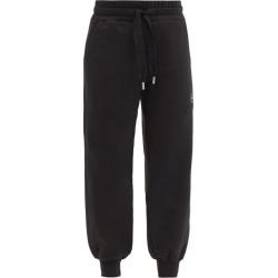 Adidas By Stella Mccartney - Logo-print Cuffed Organic-cotton Blend Track Pants - Womens - Black found on Bargain Bro UK from Matches UK
