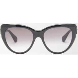 Gucci - GG-logo Oversized Cat-eye Acetate Sunglasses - Womens - Black found on Bargain Bro UK from Matches UK