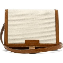Dolce & Gabbana - Leather-trimmed Cardholder - Mens - Beige found on Bargain Bro Philippines from Matches Global for $697.00