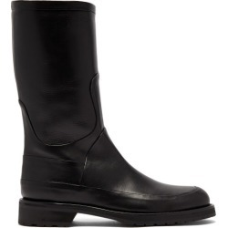 Ann Demeulemeester - Leather Boots - Mens - Black found on MODAPINS from Matches Global for USD $861.00