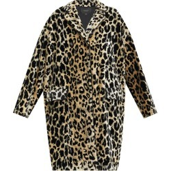 Giambattista Valli - Leopard-jacquard Single-breasted Velvet Coat - Womens - Beige Multi found on MODAPINS from Matches Global for USD $4850.00