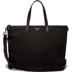 Prada - Leather-trimmed Nylon Tote Bag - Mens - Black found on Bargain Bro UK from Matches UK