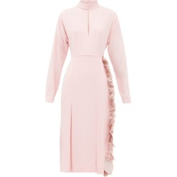 Prada - Paillette-trimmed Crepe Dress - Womens - Pink found on Bargain Bro UK from Matches UK
