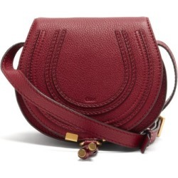 Chloé - Marcie Mini Leather Cross-body Bag - Womens - Dark Red found on Bargain Bro UK from Matches UK
