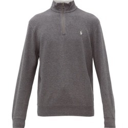 Polo Ralph Lauren - Logo-embroidered Cotton-blend Sweatshirt - Mens - Grey found on Bargain Bro India from MATCHESFASHION.COM - AU for $77.29