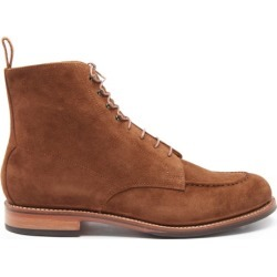 Grenson - Sawyer Suede Boots - Mens - Brown found on MODAPINS from Matches Global for USD $335.00