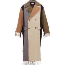 Loewe - Contrast-panel Fringed Cashmere Trench Coat - Mens - Multi found on Bargain Bro India from MATCHESFASHION.COM - AU for $2380.32