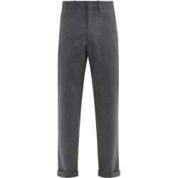 Caruso - Pantalon ajusté en flanelle de laine found on MODAPINS from matchesfashion.com fr for USD $432.90