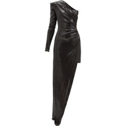 David Koma - One-shoulder Asymmetric Sequinned Dress - Womens - Black found on MODAPINS from Matches UK for USD $1633.81