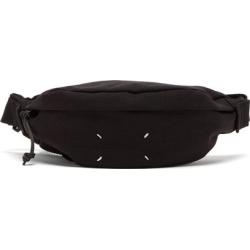 Maison Margiela - Stereotype Four-stitches Canvas Belt Bag - Mens - Black found on Bargain Bro UK from Matches UK