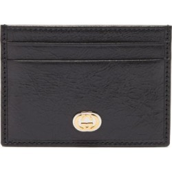 Gucci - Morpheus Leather Cardholder - Mens - Black found on Bargain Bro Philippines from Matches Global for $290.00