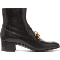 Gucci - Bottes en cuir à mors Quentin found on Bargain Bro Philippines from matchesfashion.com fr for $1274.00