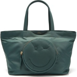 Anya Hindmarch - Chubby Wink Tote - Womens - Dark Green found on MODAPINS from Matches UK for USD $409.21