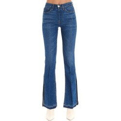3X1 WOMEN'S WP0230754BREEZE BLUE COTTON JEANS found on MODAPINS from Atterley for USD $404.36