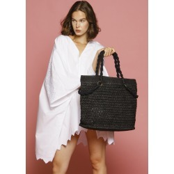 TARAY large raffia beach bag found on MODAPINS from Atterley for USD $305.74
