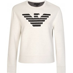 Armani Jeans Womens Neoprene Sweatshirt White found on MODAPINS from Atterley for USD $128.62