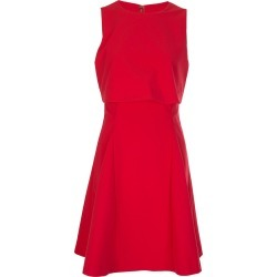 Armani Jeans Womens Overlay Dress Red found on MODAPINS from Atterley for USD $120.41