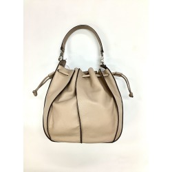Abro Taupe Leather Hand Bag 28385 37 found on MODAPINS from Atterley for USD $408.63