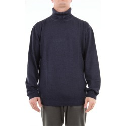 Cruciani solid color turtleneck in wool found on MODAPINS from Atterley for USD $145.76