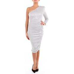 Lavish Alice short silver dress found on MODAPINS from Atterley for USD $93.88