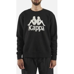 Kappa Authentic Telas 2 Crew Neck Sweater - Black found on MODAPINS from Atterley for USD $47.98