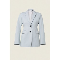 Womens Dorothee Schumacher 440102 Bold Silhouette Jacket in Blue found on MODAPINS from Atterley for USD $356.70