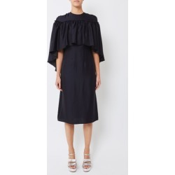 Huishan Zhang Shila Dress Navy found on MODAPINS from Atterley for USD $979.88