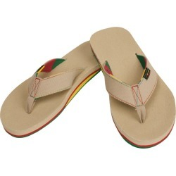 Warrior Swag Adult Thong Sandals | Size 7 | Khaki