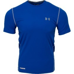 Under Armour Sonic Heatgear Senior Fitted Short Sleeve Shirt | Size Large | Royal Blue/Steel found on Bargain Bro India from Baseball Monkey for $24.99