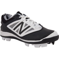 New Balance J4040V3 Boy's Low Rubber Molded Baseball Cleats - Black/white | Size 11.0C | Extra Wide found on Bargain Bro India from Baseball Monkey for $11.98