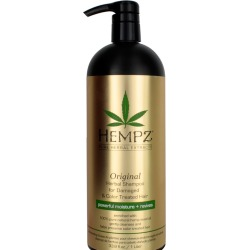 Hempz Original Herbal Shampoo for Damaged & Color Treated Hair 33.8 oz