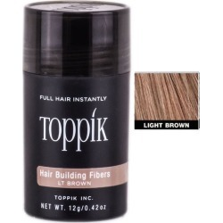 Toppik Hair Building Fibers Light Brown 0.42 oz