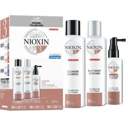 Nioxin System 3 Kit For Colored Hair - Light Thinning