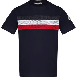 Boy's Mesh Striped Crewneck T-Shirt, Size 8-14 found on Bargain Bro India from Bergdorf Goodman for $145.00